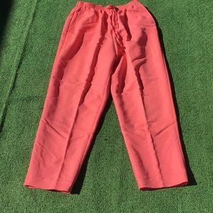 Alfred Dunner coral pink pants
